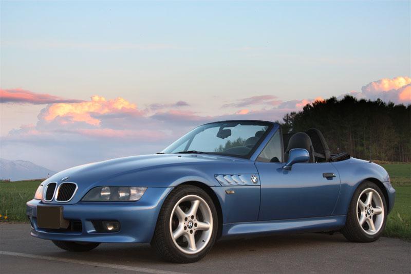 BMW Z3の買取相場・平均買取額は?