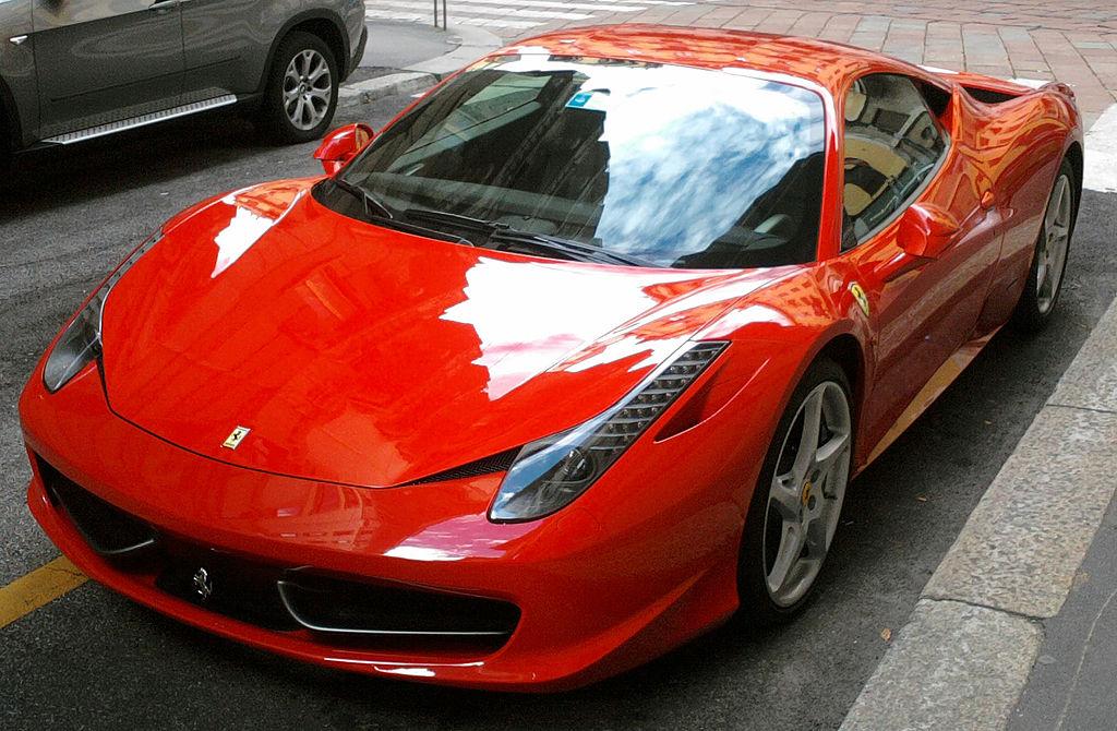 フェラーリ458イタリアの買取相場・平均買取額は?