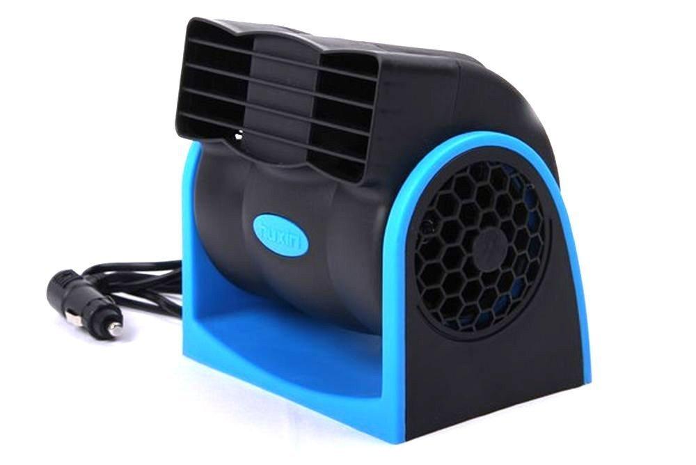 【 車内の煮えたぎるような暑さも一気に解消 車内用 ツインファン 】 車用 12V 車載用 冷風器 エコ ファン シガー電源 角度 調節 風量 SD-FAN01
